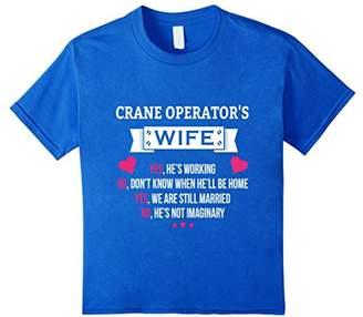 Crane Operator shirt- Crane Operator wife