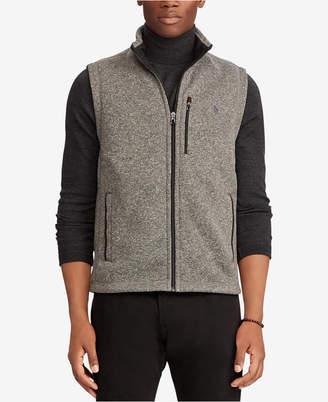Polo Ralph Lauren Men Fleece Mock-Neck Vest