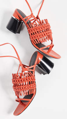 3.1 Phillip Lim Drum 70mm Crochet Sandals