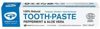 Green People Organic Toothpaste Mint, Vegan 50ml - No Colour
