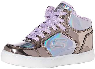 Skechers Girls' Energy Lights-Shiny Brights Hi-Top Trainers,(30 EU)