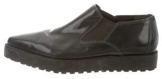 Alexander Wang Leather Pointed-Toe Oxfords