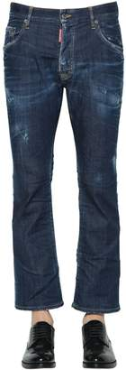 DSQUARED2 22cm Flared Denim Cropped Jeans