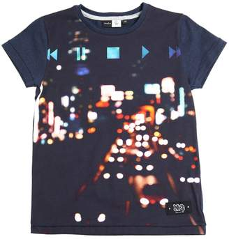 Molo Lights Printed Cotton Jersey T-Shirt