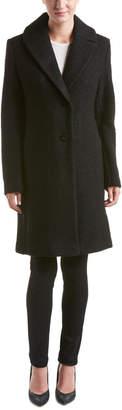 T Tahari Tessa Wool-Blend Coat