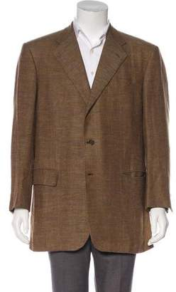 Luciano Barbera Linen & Wool Blazer