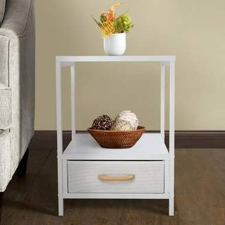 Wrought Studio Alphin 2-Tier End Table with Storage