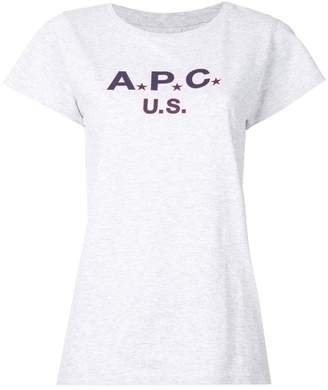 A.P.C. (アー ペー セー) - A.P.C. プリントTシャツ
