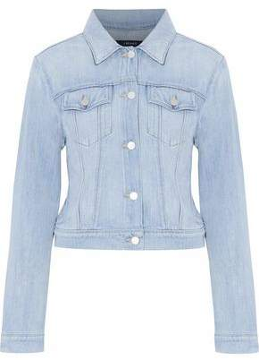 J Brand Harlow Bleached Denim Jacket