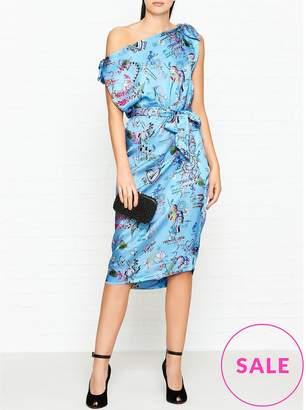 Vivienne Westwood Shore Bow Shoulder Dress
