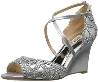 Badgley Mischka Women's Winter Wedge Sandal