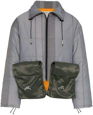 A-Cold-Wall* two pocket cropped down coat
