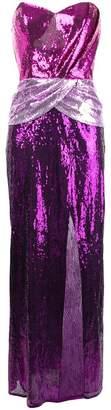 Christian Pellizzari (クリスチャン ペリザーリ) - Christian Pellizzari sequinned colour block gown