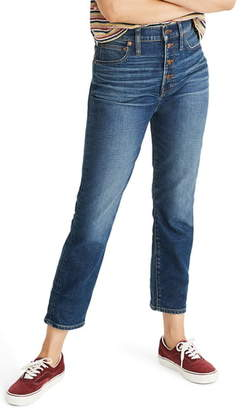 Madewell The Perfect Button Front Jeans