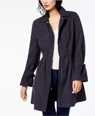 Maison Jules Tie-Sleeve Trench Coat