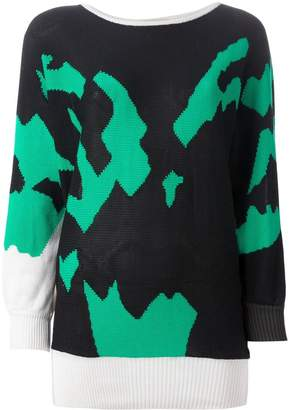 Versace Pre-Owned intarsia sweater