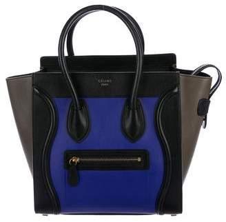 Celine Tricolor Micro Luggage