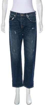STRÖM Straight-Leg Boyfriend Jeans