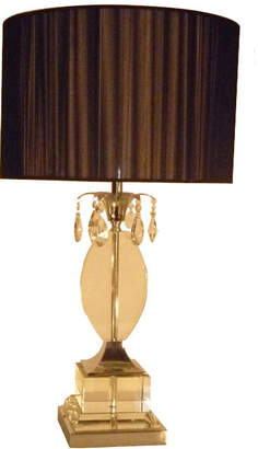 clear Dv Lighting Over Crystal Table Lamp