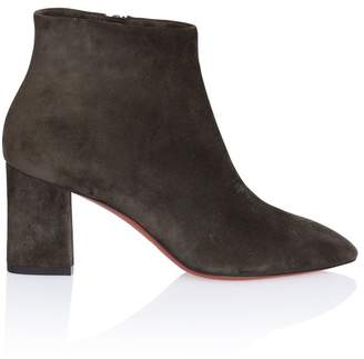 Santoni Almond Toe Ankle Boot