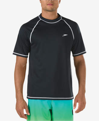 Speedo Men Easy Rash Guard Swim T-Shirt