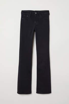 H&M Bootcut Regular Jeans - Black