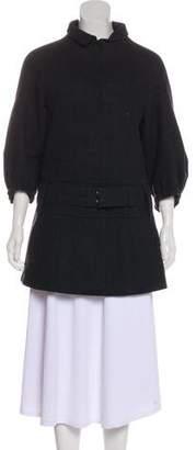 Prada Wool Button-Up Jacket
