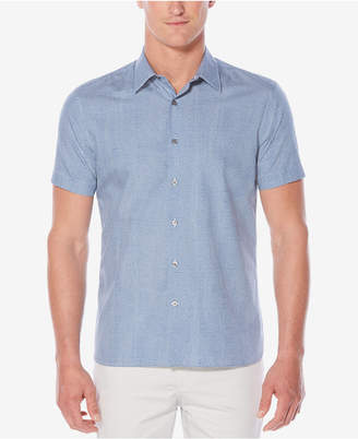 Perry Ellis Men's Topographic Wave Shirt