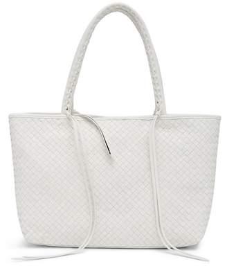 Christopher Kon Woven Leather Tote Bag