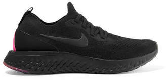 Nike Epic React Betrue Flyknit Sneakers - Black