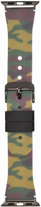 INC International Concepts I.n.c. Women's Camouflage Silicone Apple Watch Strap