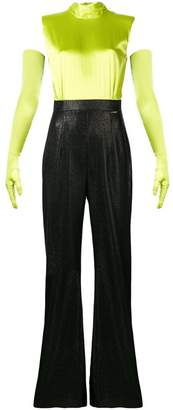 Styland colour-block jumpsuit