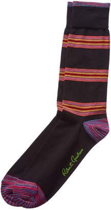 Robert Graham Sawteeth Socks
