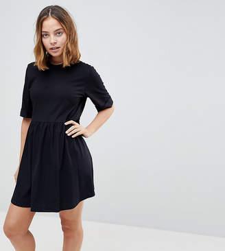 Asos DESIGN Petite mini ultimate cotton smock dress