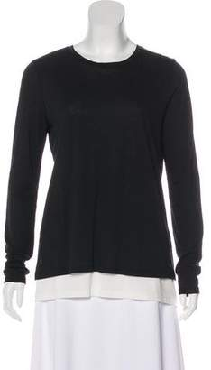 Vince Layered Long Sleeve Top