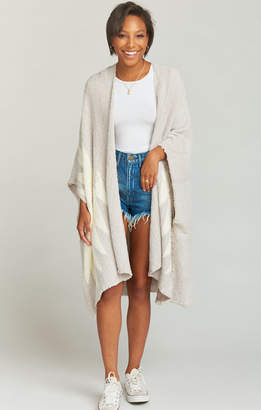 Show Me Your Mumu Leone Poncho ~ North Star Knit