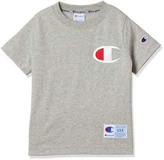 Champion (チャンピオン) - [チャンピオン] ビッグC Tシャツ CS4785 ボーイズ オックスフォードグレー 日本 140 (日本サイズ140 相当)