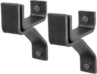 """Enclume 4"""" Wall Brackets for Rolled-End Bar, Set of 2"""