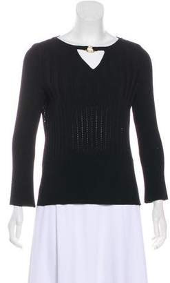 St. John Long Sleeve Knit Sweater