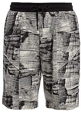 Madison Supply Men's Utility Printed Shorts