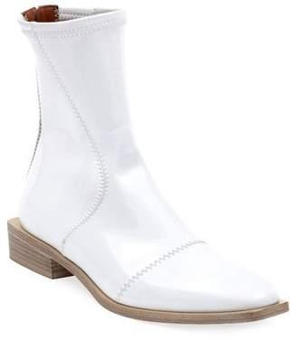 Fendi Flat Neoprene Back-Zip Booties
