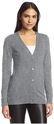 Society New York Women's Button Hem Cardigan Sweater