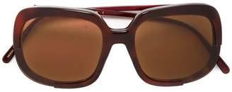 Marni Eyewear oversized square frame sunglasses
