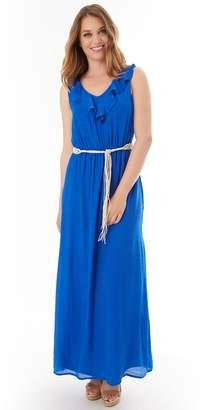 Apt. 9 Women's Gauzy Ruffle Maxi Dress