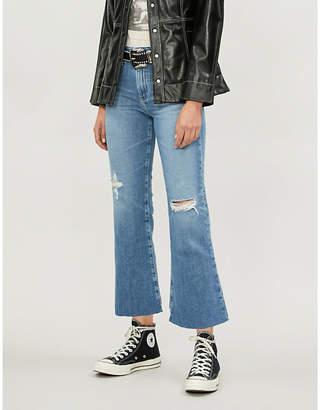 AG Jeans Quinne distressed denim jeans