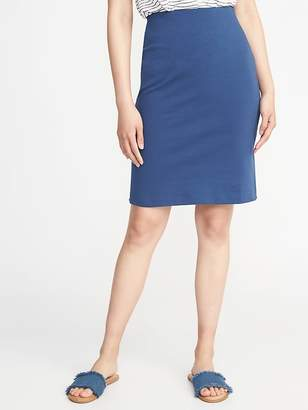 Old Navy Ponte-Knit Pencil Skirt for Women