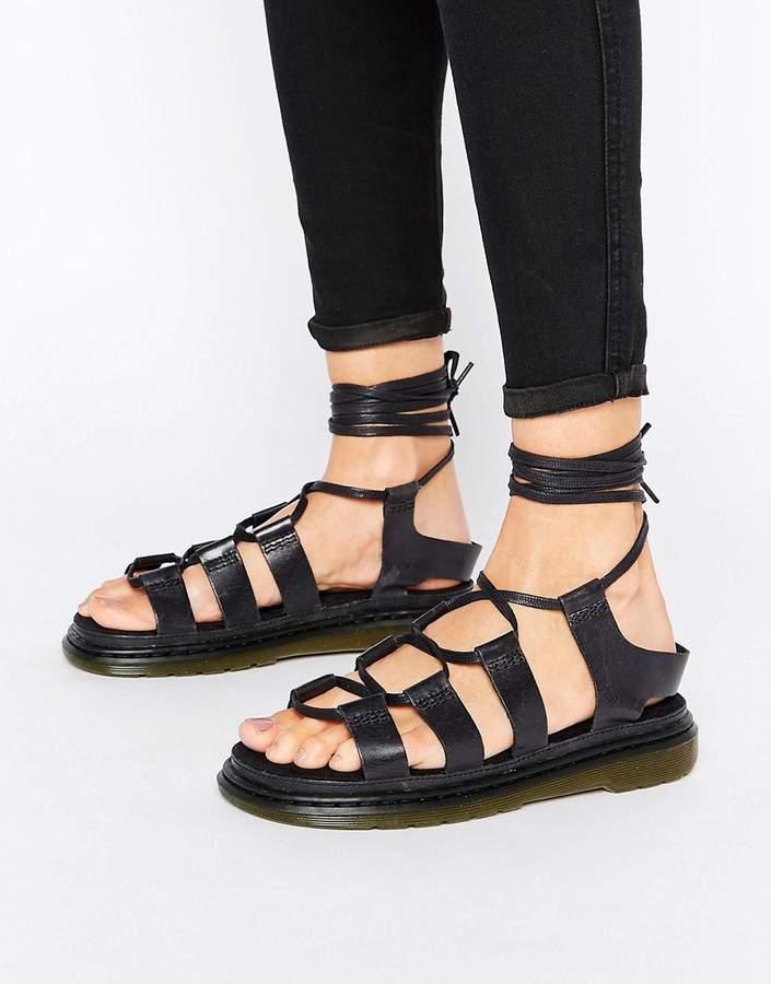 Dr. MartensDr Martens Kristina Ghillie Lace Up Flat Sandals
