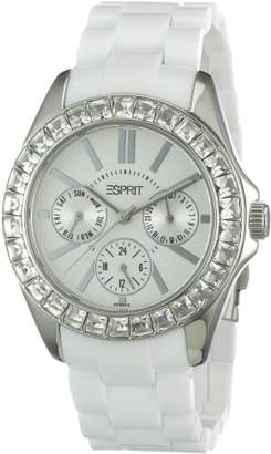 ESPRIT Women's ES105172006 Dolce Vita Plastic White Analog Watch $101.50 thestylecure.com