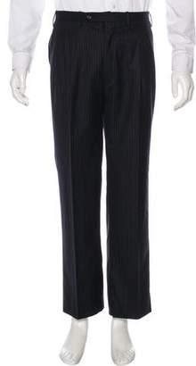 Kiton Pleated Striped Pants