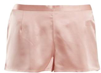 La Perla Silk Satin Pyjama Shorts - Womens - Pink